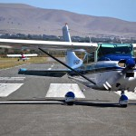 Bradelaide Multimedia Photography for the Aldinga Airfield website - light plane taxi